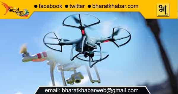 राजस्थान सीमा में ड्रोन घुसने पर बीएसएफ ने खदेड़ा, पाकिस्तानी होने की आशंका