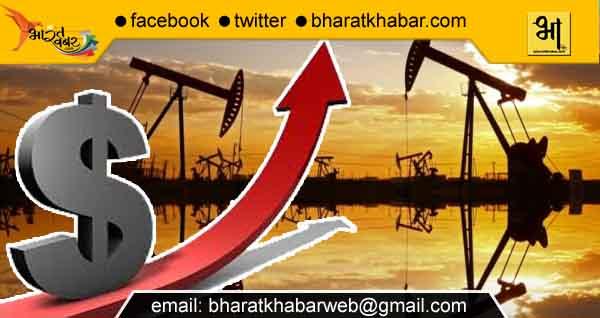 सटोरियों की कारस्तानी: कच्चे तेल के दाम में 29 रूपए प्रति बैरल का इजाफा