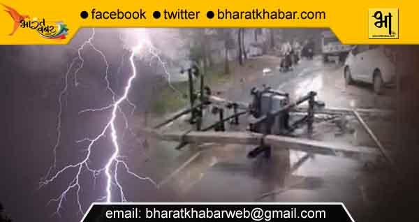andhi tufaan barish bijali उत्तरकाशी में बरपा आसमानी कहर, बादल फटने से तीन लोगों की मौत