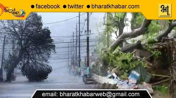 आंधी तूफान ने गुजरात में 9 की जान ली तो वहीं यूपी में भी रहा जबरदस्त असर