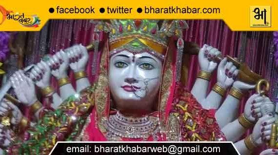 नगर निगम में साक्षात विराजमान है अष्टादश भुजाओं वाली दुर्गा माता की विशाल प्रतिमा