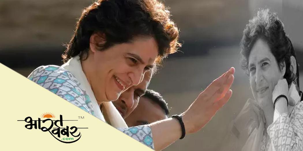 priyanka gandhi प्रियंका गांधी ने नरेंद्र मोदी सरकार की नाकामियों को गिनाकर मांगा वोट