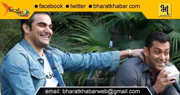 इंदौर पहुंचे सलमान, अरबाज़ खान, 'दबंग 3' की शूटिंग आज से होगी शुरू