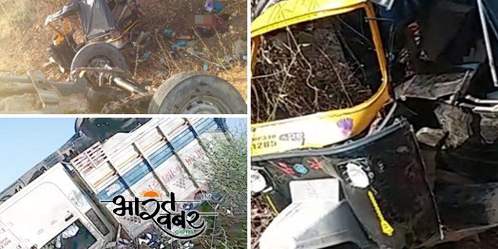 damoh accident दमोह में दुर्घटना, पांच महिलाओं की मौत, दर्जनभर हुए घायल, देखें तश्वीरें