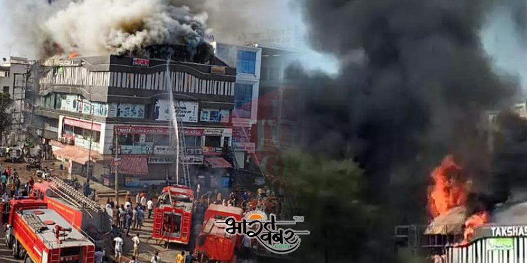 surat सूरत तक्षशिला कॉम्प्लेक्स में भीषण आग 15 छात्रों समेत 19 की मौत