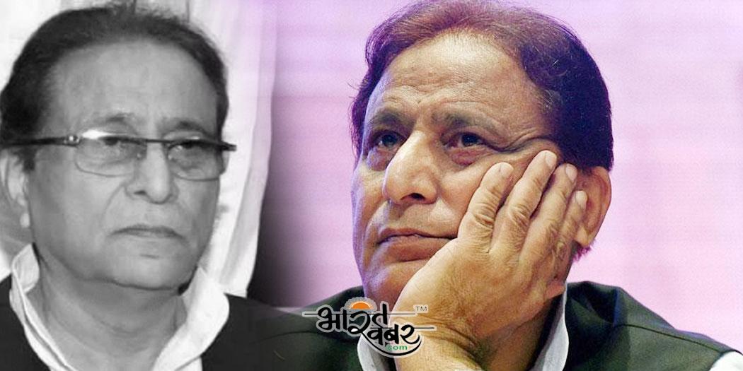 aajam khan कोसी नदी जमीन पर कब्जे के आरोप में आजम खान समेत कई पर मुकदमा दर्ज
