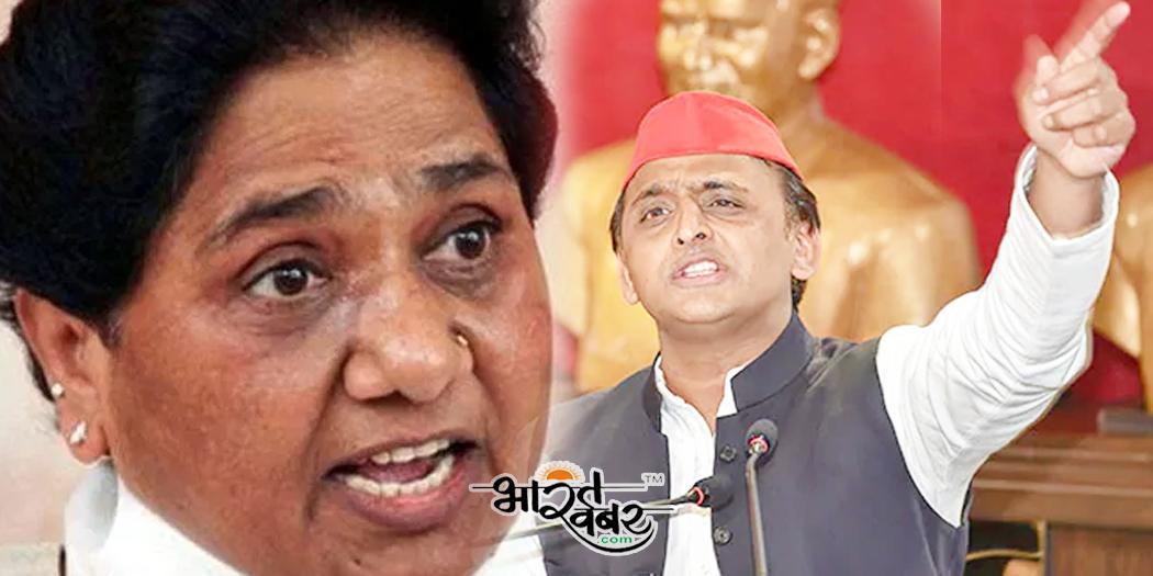 akhilesh mayawati sp bsp समाजवादी पार्टी अब अस्तित्व के संकट से जूझ रही, शिवपाल का विलय से इंकार