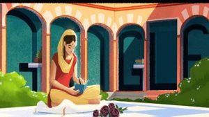 google makes doodle on amrita pritam s 100th birthday  1567235850