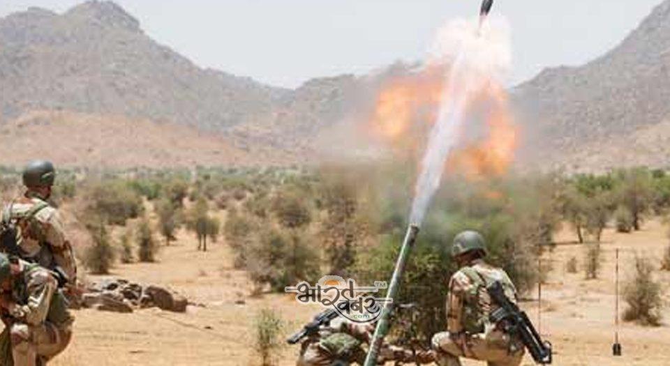 पाक ने दागे मोर्टार, सेना के जवानों को आई मामूली चोटें, पुंछ जिले की है घटना