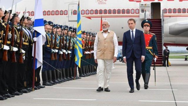 pm narendra modi russia visit 1567555691 रूस के दो दिन के दौरे पर पीएम मोदी, इन मुद्दों पर होगी चर्चा
