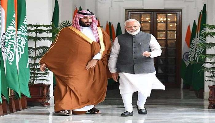 20 02 2019 mbs and pm modi 18970091 144547739 जल्द ही सऊदी का दौरा करेंगे पीएम मोदी, क्राउन प्रिंस मोहम्मद बिन सलमान से करेंगे निवेश पर चर्चा