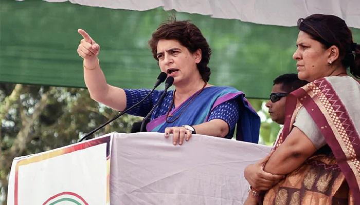 Priyanka gandhi डिमोनेटाइजेशन आपदा साबित हुई, भारतीय अर्थव्यवस्था को नष्ट कर दिया: प्रियंका