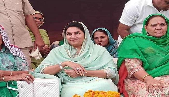 haryana naina chautalas name also appeared for deputy cm 295724 हरियाणा में उपमुख्यमंत्री पद के लिए दुष्यंत चैटाला की मां नैना चौटाला के नाम पर विचार