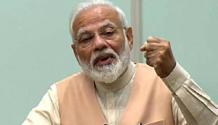 वीडियो कॉन्फ्रेंसिंग के जरिए देश को किया संबोधित, बुद्ध के कदम पर चलकर भारत दुनिया की मदद कर रहा है