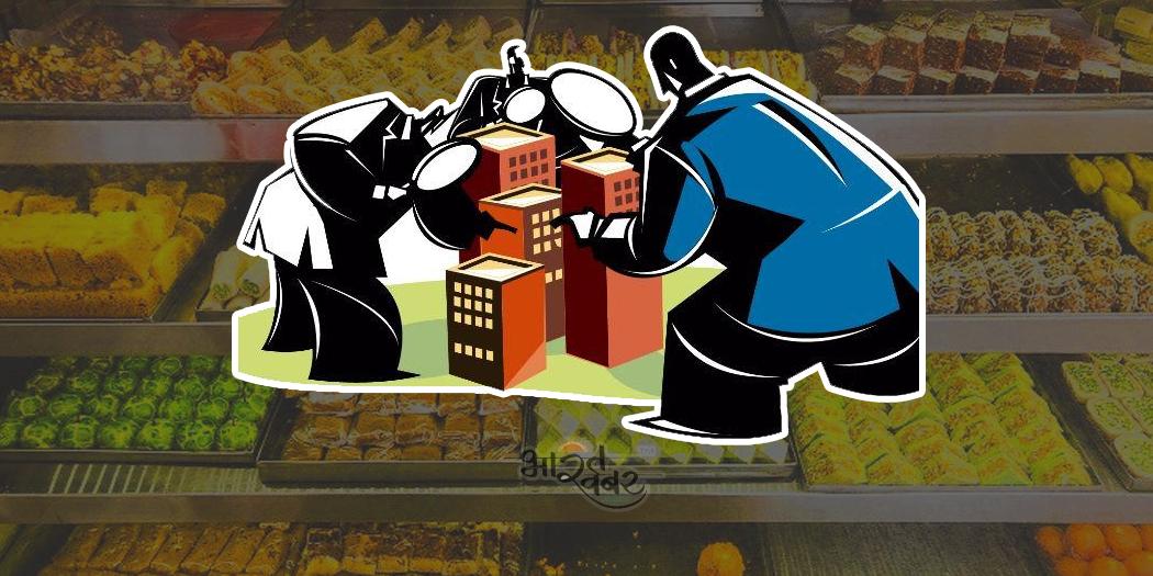 raid sweet shop chhapemari खाद्य और औषधि विभाग मिठाई निर्माताओं पर छापेमार कार्रवाई शुरू की