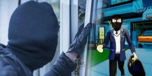 thief robbery loot chori thugi cheating कानपुर में एक घर में हुई 1 करोड़ की चोरी..