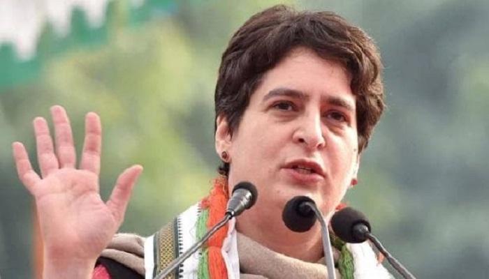 प्रियंका गांधी यूपी में 2022 का विधानसभा चुनाव पार्टी अकेले लड़ सकती हूं: कांग्रेस महासचिव प्रियंका गांधी