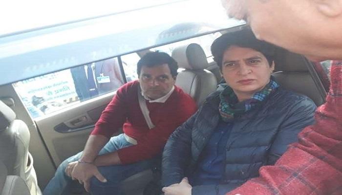 मेरठ 3 जाने क्यों मेरठ जा रहे राहुल गांधी और प्रियंका गांधी को पुलिस ने शहर के बाहर ही रोका