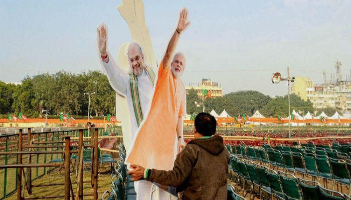 PM MODI दिल्ली के रामलीला मैदान में होने जा रही पीएम मोदी की रैली, सुरक्षा के व्यापक इंतज़ाम