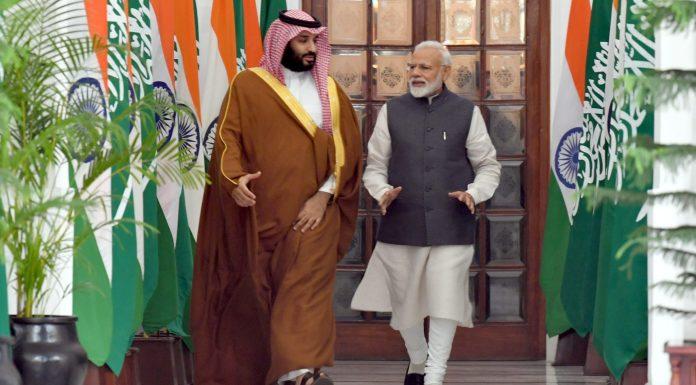 PM Modi With Crown Prince भारत के साथ सऊदी अरब के रिश्तों में तनाव, सऊदी ने किया कश्मीर मुद्दे पर समिट बुलाने का फैसला