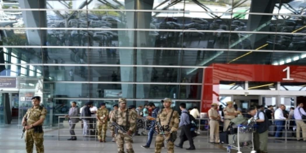 air port आईजीआई एयरपोर्ट पर 39.14 लाख रुपये के साथ 4 कश्मीरी गिरफ्तार