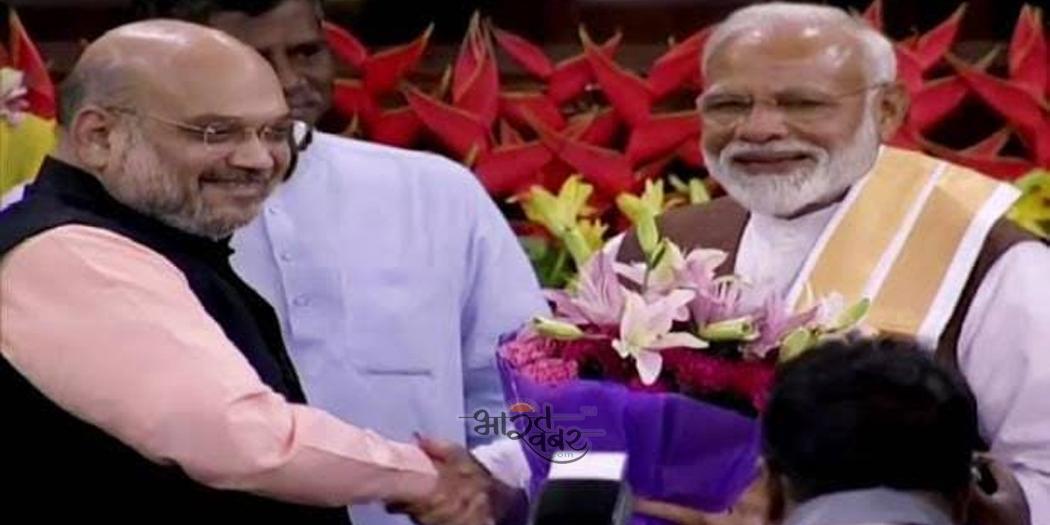 amit sha and modi प्रकाश सिंह बादल को पीएम नरेंद्र मोदी व अमित शाह ने जन्मदिन की बधाई दी