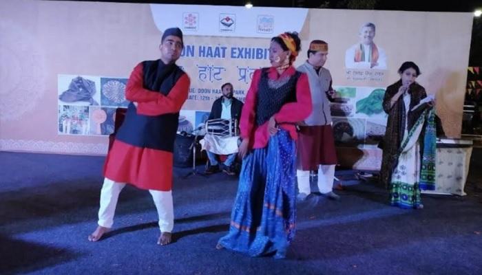 uttrakhand 2 दून हाट में गढ़वाली और कुमाऊंनी लोक कलाकारों द्वारा मनमोहक प्रस्तुतियां दी गयी