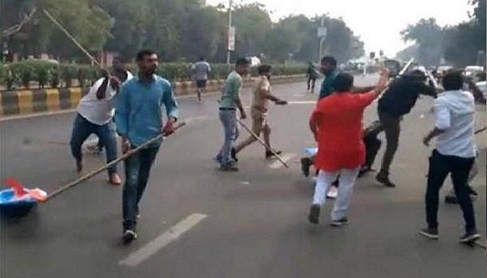 अहमदाबाद गुजरात तक पहुंचा जेएनयू, एबीवीपी और लेफ्ट विंग के छात्रों के बीच हुई झड़प का विवाद