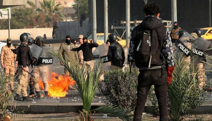 ईराक इराकी राजधानी के हाई-सिक्योरिटी ग्रीन जोन में अमेरिकी दूतावास पर तीन रॉकेटों से हमला
