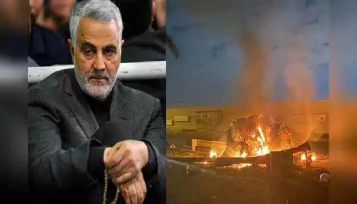 ईरानी जनरल कासिम सुलेमानी ईरानी जनरल कासिम सुलेमानी की हत्या के बाद तीसरा विश्वयुद्ध शुरू होने की आशंका