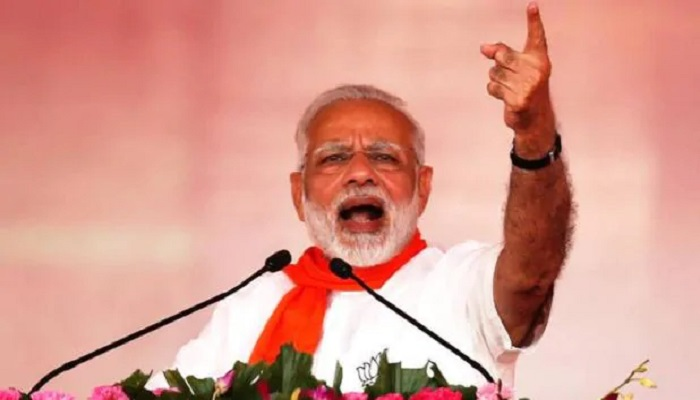पीएम मोदी पीएम मोदी ने कर्नाटक के तुमकुर में CAA के खिलाफ विपक्ष के आंदोलन को लेकर जमकर बोला हमला