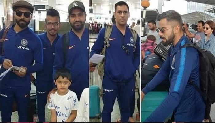 भारतीय टीम ऑस्ट्रेलिया को वन-डे सीरीज में 2-1 से मात देने के बाद न्यूजीलैंड पहुंची भारतीय टीम, करेगी टी-20 सीरीज का आगाज