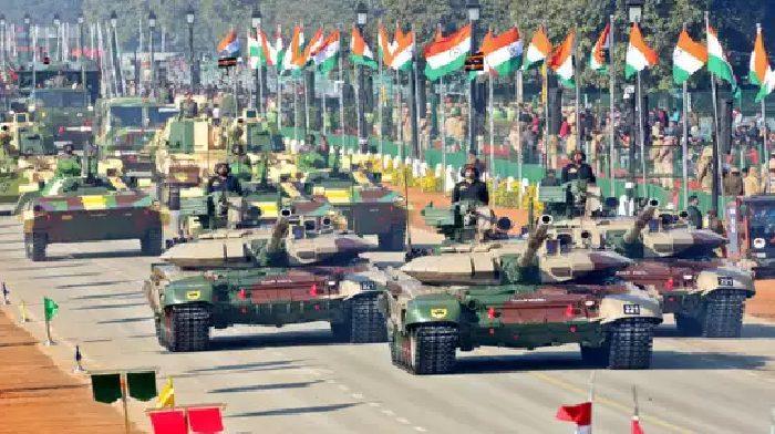 राजप देश के 71वें गणतंत्र दिवस समारोह में राजपथ पर भारत की बढ़ती सैन्य ताकत की आज दिखेगी झलक