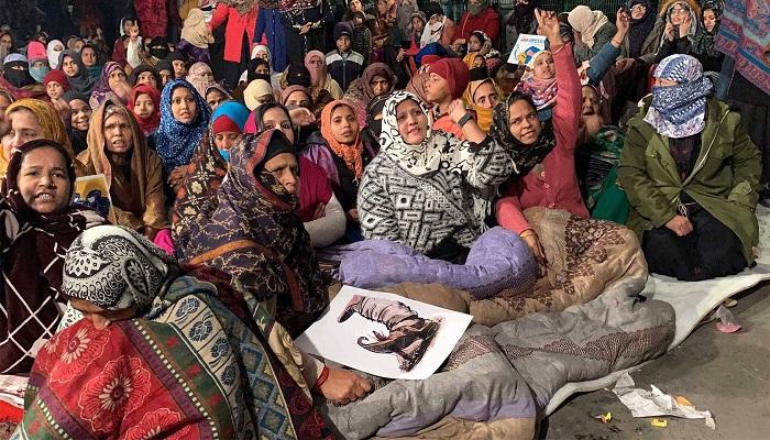 शाहीन बाग 1 सीएए के खिलाफ दिल्ली शाहीन बाग पर बीजेपी नेता का हमला, शाहीन बाग को कहा शैतान बाग