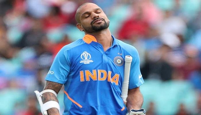 शिखर धवन भारत को न्यूजीलैंड में पांच मैचों की 20-20 इंटरनेशनल सीरीज खेलने से पहले भारत को लगा बड़ा झटका