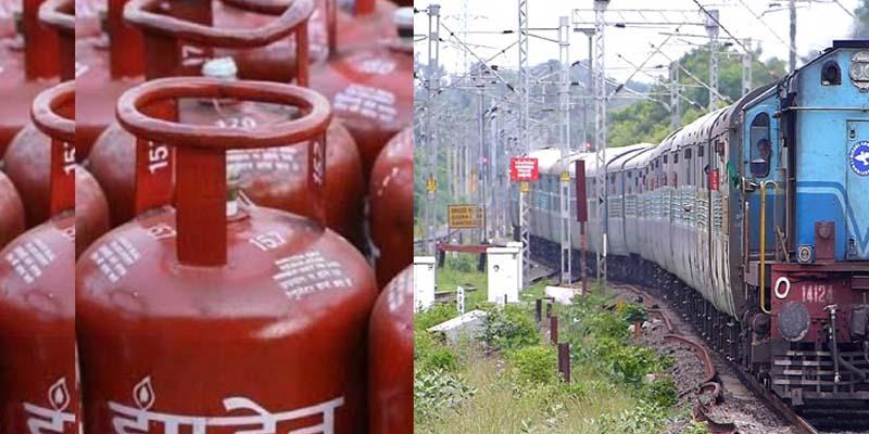 train cylinder रेल किराया व सिलेंडर की कीमत में बढ़ोतरी का विरोध करेगी उत्तराखंड कांग्रेस
