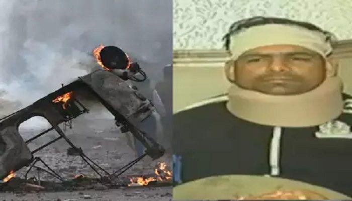 दिल्ली हिंसा में घायल सहायक एसीपी अनुज कुमार ने सुनाई आप बाती, जाने क्या कहा
