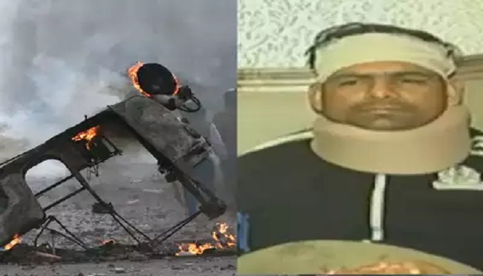 एसपी अनुज दिल्ली हिंसा में घायल सहायक एसीपी अनुज कुमार ने सुनाई आप बाती, जाने क्या कहा