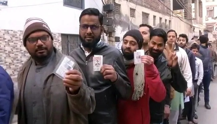 दिल्ली वोटिंग दिल्ली विधानसभा चुनाव: चुनाव आयोग के अनुसार, सुबह 10 बजे तक 4.33 फीसदी वोटिंग