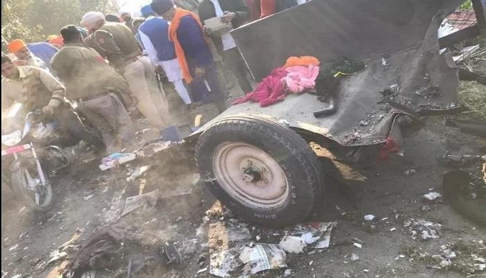 पंजाब 3 बााबा दीप सिंंह जी के जन्म दिवस को समर्पित नगर कीर्तन के दौरान अचानक तेज धमाका, 2 की मौत कई घायल