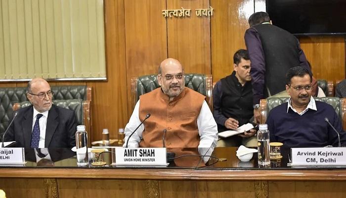 बैठक दिल्ली में हो रही हिंसा को लेकर अमित शाह ने की बैठक, केजरीवाल ने बताया क्या लिया गया फैसला