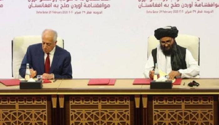 अमेरिका तालिबान समझौता जाने क्या है अमेरिका और तालिबान के बीच हुआ शांति समझौता, 18 महीनों की वार्ता के बाद हुए हस्ताक्षर