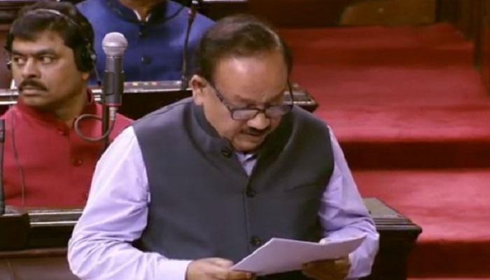 केंद्रीय स्वास्थ्य मंत्री डॉ हर्षवर्ध संसद में बजट सत्र के दूसरे चरण का पांचवां दिन, विपक्ष ने किया हंगामा तो 11 मार्च तक के लिए राज्यसभा स्थापित