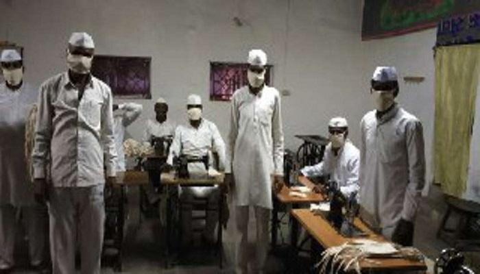 बिहार 4 बिहार के पूर्णिया में स्थित सेंट्रल जेल में कैदी रोज 500 मास्क बना रहे
