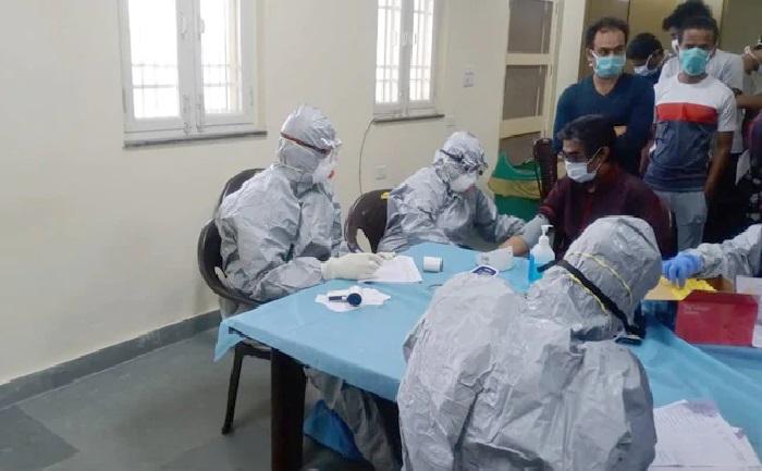 भूटान भूटान से लौटे व्यक्ति में पाए गए कोरोना के लक्षण, अस्पताल में भर्ती, अब तक 93 मामले आए सामने