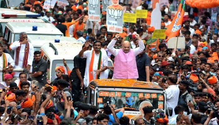 amit shah कोतकाता में हुआ अमित शाह के दौरे का जमकर विरोध, लोगों ने लगाए वापस जाओ के नारे