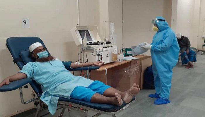 जमाती जिन जमातियों को ठहराया था कोरोना के विस्तार का ज़िम्मेदार, अब संक्रमितों के लिए डोनेट कर रहे ब्लड प्लाजमा