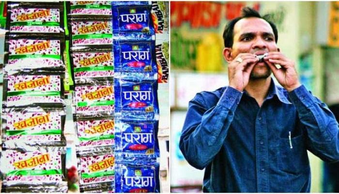 पान मसाला यूपी में बैन होने के बाद भी हरदोई में धड़ल्ले से बिक रहा पान मसाला