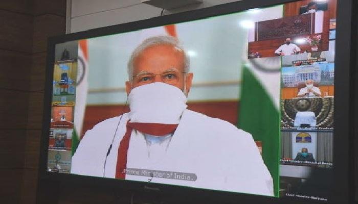पीएम मोदी ने की सभी राज्यों के मुख्यमंत्रियों के साथ वीडियो कॉन्फ्रेंसिंग बैठक, ज्यादातर सीएम ने दी लॉकडाउन बढ़ाने की राय