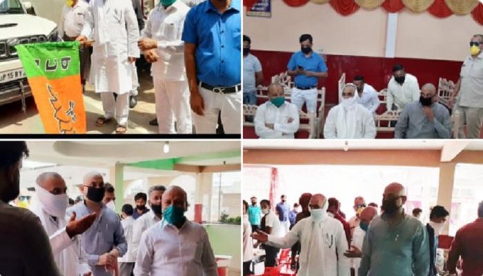 मेरठ 6 दक्षिण मेरठ विधायक सोमेंद्र तौमर ने शुरू की मोदी-योगी रसोई, 5000 लोगों को मिल रहा शुद्ध भोजन